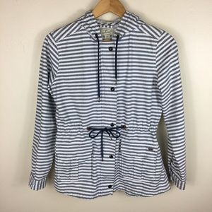 Levi's Lightweight Striped Utility Hooded Jacket